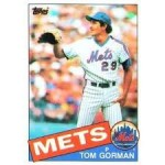 Mets Card of the Week: 1985 Tom Gorman