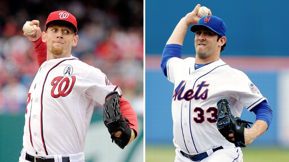 Citi Field's First Event:  Stephen Strasburg vs. Matt Harvey