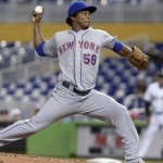Jenrry Mejia getting the short end in rotation battle