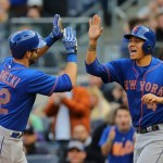 Flores and Plawecki lead an otherwise scrawny bench