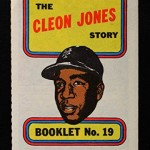 Mets Card of the Week: Cleon Jones booklet